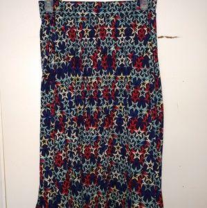 3X Lularoe Madison Skirt
